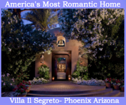 Villa Il Segreto Named Most Romantic